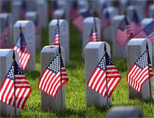 USA CEMETERY SPEARHEAD 8 IN X 12 FT FLAGS