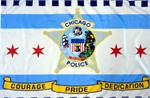 Chicao Police Flag