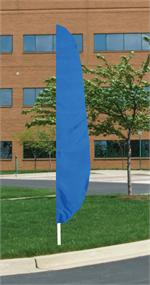ROYAL BLUE FEATHER FLAG 26