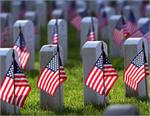 USA CEMETERY SPEARHEAD 12 IN X 18 FT FLAGS